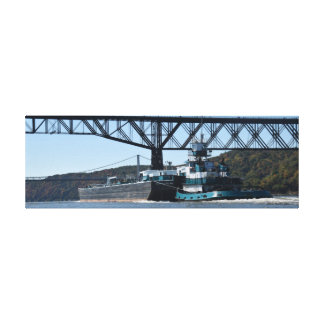 Kimberly Poling southbound at Poughkeepsie Canvas Print