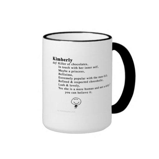 kimberly taza de dos colores