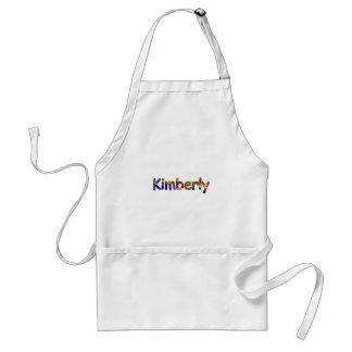 Kimberly's apron