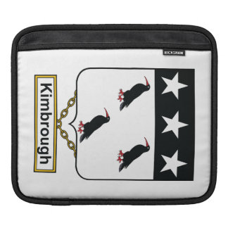 Kimbrough Family Crest iPad Sleeves