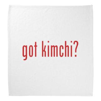 ¿kimchi conseguido? bandanas
