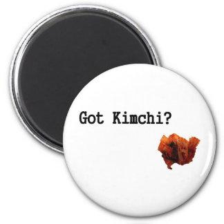 ¿Kimchi conseguido? Imán Redondo 5 Cm