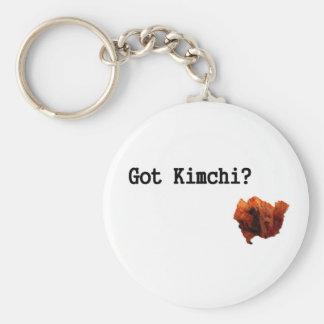 ¿Kimchi conseguido? Llavero Redondo Tipo Pin