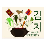 Kimchi Friends Postcard