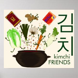 Kimchi Friends Poster