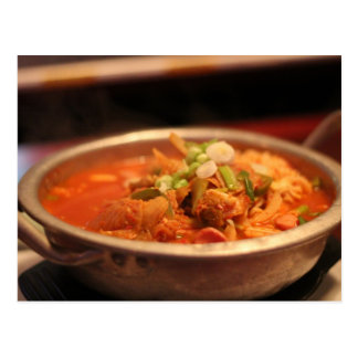 Kimchi Jjigae (sopa) Postal