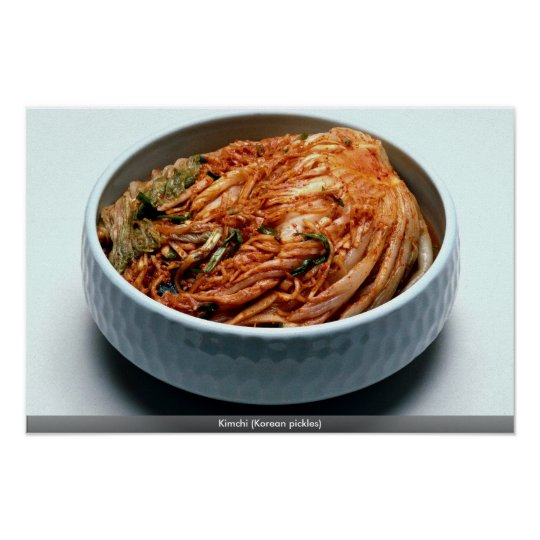 Kimchi (Korean pickles) Poster