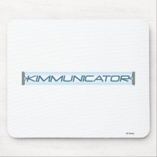 Kimmunicator Text Disney Mouse Pad