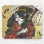 Kimono Cat mousepad