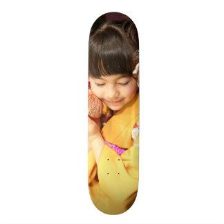 kimono child japan skateboard