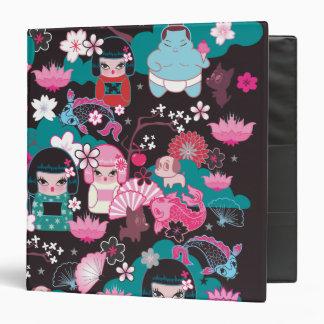 Kimono Cuties Kawaii Binder by Fluff