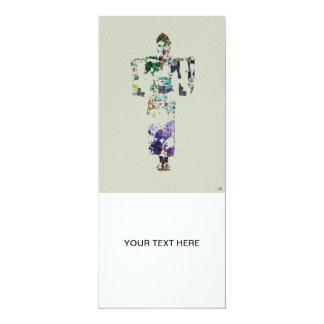 Kimono Dancer 7 4x9.25 Paper Invitation Card