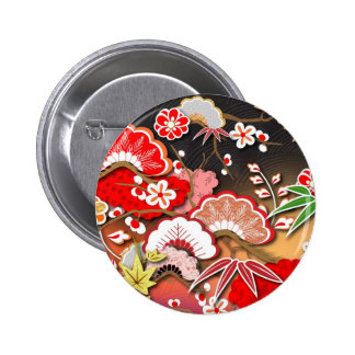 Kimono elegante - diseño del japonés pin