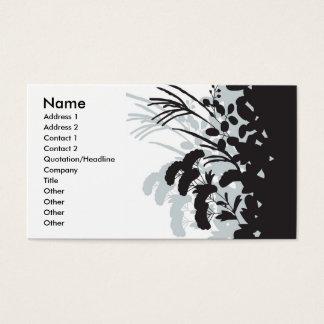 Kimono Floral Business Card