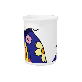 Kimono handgun beverage pitcher