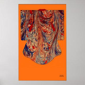 Kimono lm1, Kakemono Poster