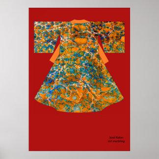 Kimono mc1 kakemono poster