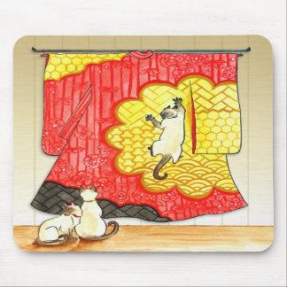 Kimono Mischief Mousepad