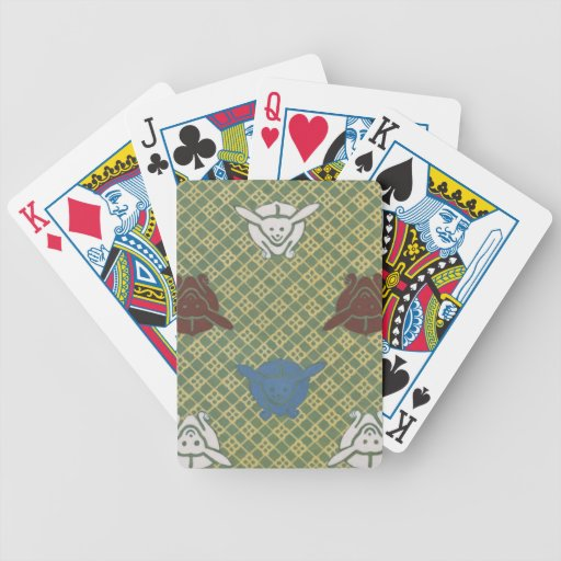 Kimono Pattern Playing Cards