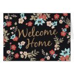 Kimono Print New Home Stationery Note Card