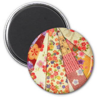 KIMONO VARIETY MIX 2 PRINT COLLECTION 2 INCH ROUND MAGNET