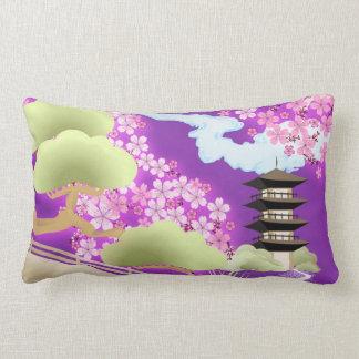 Kimono violeta almohada