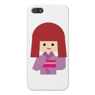 KimonoGirlNew10 Cover For iPhone 5