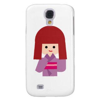 KimonoGirlNew10 Galaxy S4 Cases