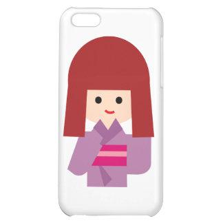 KimonoGirlNew10 iPhone 5C Cases