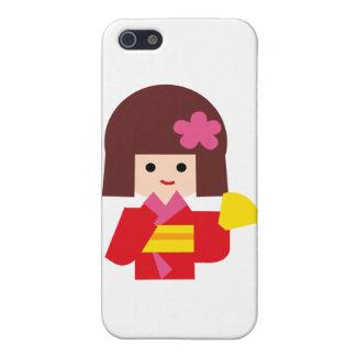 KimonoGirlNew11 Cover For iPhone 5