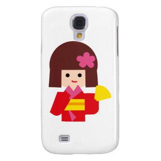 KimonoGirlNew11 Galaxy S4 Covers