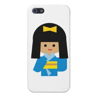 KimonoGirlNew13 Case For iPhone 5