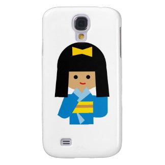 KimonoGirlNew13 Galaxy S4 Cover