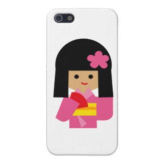 KimonoGirlNew14 Cases For iPhone 5