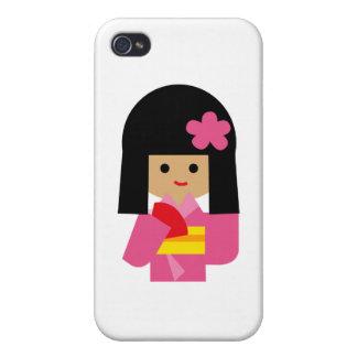 KimonoGirlNew14 Covers For iPhone 4