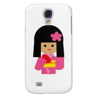 KimonoGirlNew14 Galaxy S4 Case