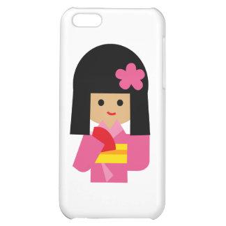 KimonoGirlNew14 iPhone 5C Covers