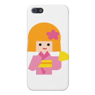KimonoGirlNew1 Cases For iPhone 5