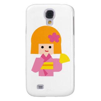 KimonoGirlNew1 Galaxy S4 Covers