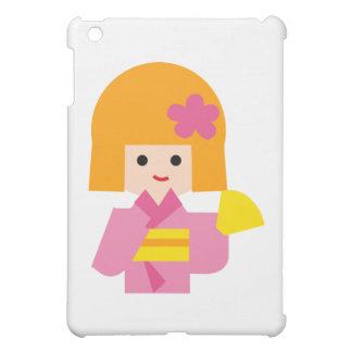 KimonoGirlNew1 iPad Mini Cover