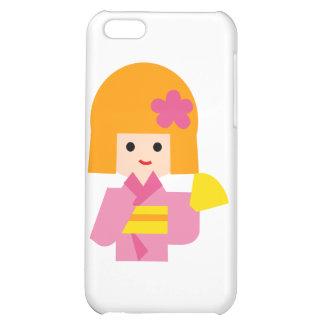 KimonoGirlNew1 iPhone 5C Cases