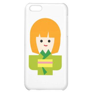 KimonoGirlNew2 Case For iPhone 5C