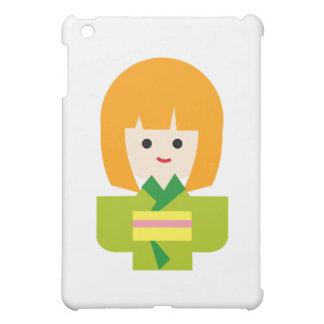 KimonoGirlNew2 Case For The iPad Mini