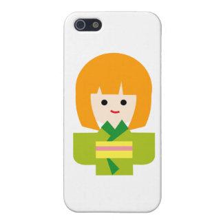 KimonoGirlNew2 Cases For iPhone 5