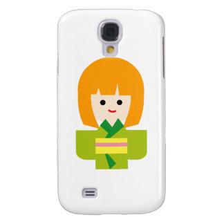 KimonoGirlNew2 Galaxy S4 Covers