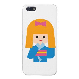 KimonoGirlNew3 Cases For iPhone 5