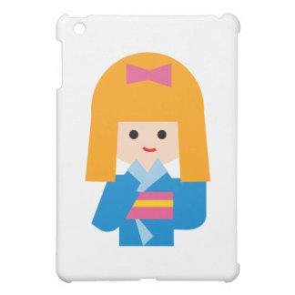 KimonoGirlNew3 iPad Mini Cover