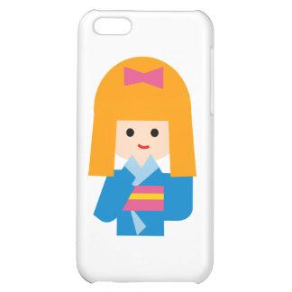 KimonoGirlNew3 iPhone 5C Cases