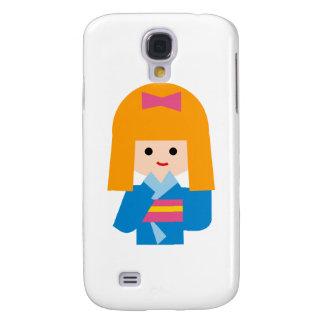 KimonoGirlNew3 Samsung Galaxy S4 Covers