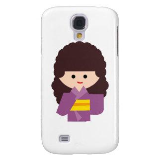 KimonoGirlNew5 Galaxy S4 Cases
